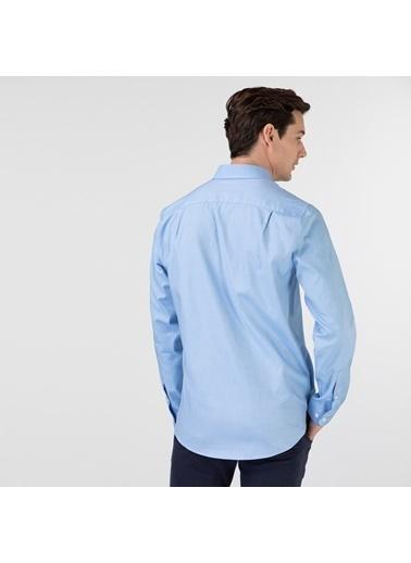 Lacoste Erkek Slim Fit Gömlek CH0103.03M Mavi